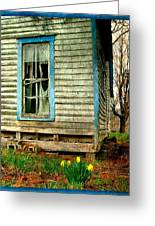 Grandma's Daffodyls Greeting Card by Julie Dant