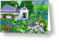 Grandma's Garden Greeting Card