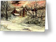 Grandma's House Greeting Card