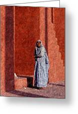 Grandmother In India Greeting Card