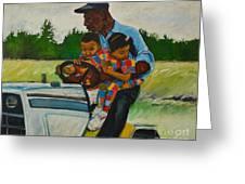 Grandpas Helpers Greeting Card