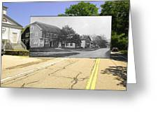 Grange Hall On The Commons In Little Compton Ri Greeting Card