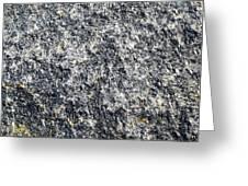 Granite Abstract Greeting Card
