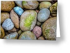 Granite Cobbles Greeting Card