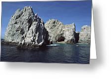 Granite Outcrop Cabo San Lucas Mexico Greeting Card