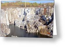 Granite Quarry, Barre, Vermont Greeting Card