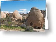 Granite Rock Formations Greeting Card