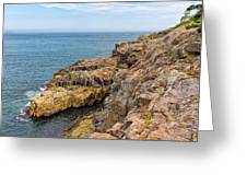 Granite Shore Greeting Card
