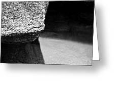 Granite Three Greeting Card
