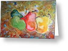 Granny Smith - Original Sold Greeting Card
