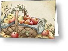 Granny's Basket Greeting Card