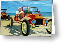 Granpas Racer Greeting Card