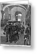 Grant Funeral, 1885 Greeting Card