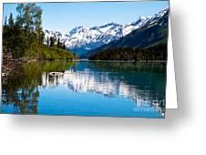 Grant Lake Greeting Card by Chris Heitstuman