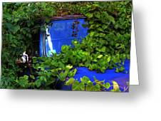 Grapes Eat Truck Greeting Card