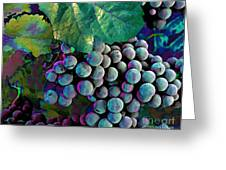 Grapes Painterly Greeting Card