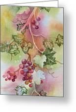 Grapevine Greeting Card