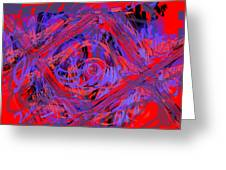 Graphic Explosion Greeting Card