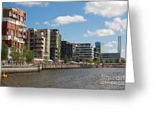 Grasbrookhafen Hamburg Hafencity Greeting Card