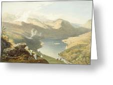 Grasmere From Langdale Fell, From The Greeting Card