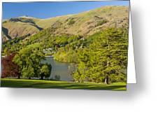 Grasmere Lake Greeting Card