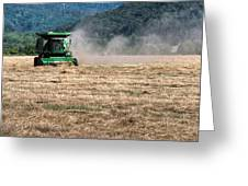 Grass Harvest 16000 Greeting Card