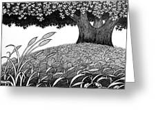 Grass Of The Earth Greeting Card