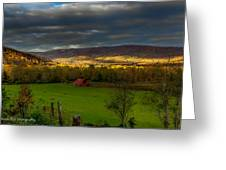 Grassy Cove Tennessee Greeting Card by Paul Herrmann