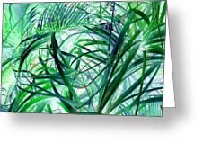 Grassy Glow  Greeting Card