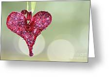 Grateful Heart Greeting Card by Brenda Schwartz