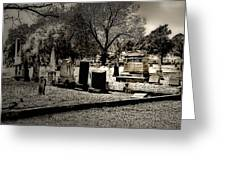 Grave Consequences Greeting Card