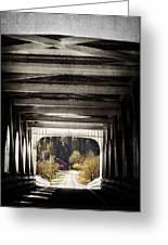 Grave Creek Covered Bridge Greeting Card