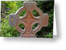 Grave Cross 5 Greeting Card