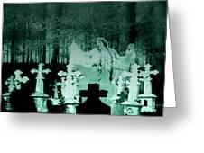 Grave Dancing Greeting Card