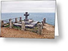 Grave Of Chateaubriand Greeting Card