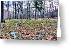 Grave Reminders Greeting Card