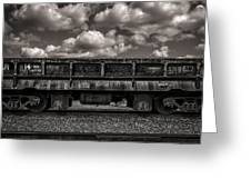 Gravel Train Greeting Card