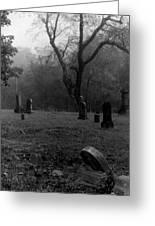 Graveyard 4 Greeting Card