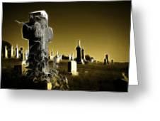 Graveyard 4730 Greeting Card