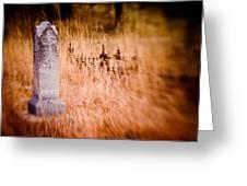 Graveyard 6792 Greeting Card