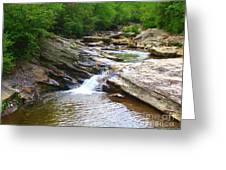 Graveyard Falls Greeting Card