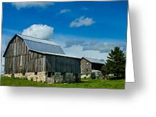 Gray Barn Greeting Card