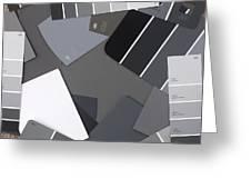 Gray Card Checker O Meter Greeting Card