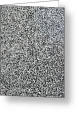 Gray Granite Greeting Card