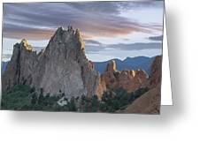 Gray Rock And South Gateway Rock Garden Greeting Card