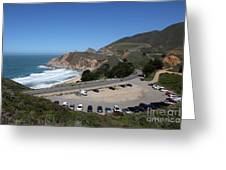 Gray Whale Cove State Beach Montara California 5d22616 Greeting Card by Wingsdomain Art and Photography
