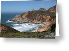 Gray Whale Cove State Beach Montara California 5d22618 Greeting Card by Wingsdomain Art and Photography