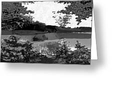 Grayscale To Commune Greeting Card