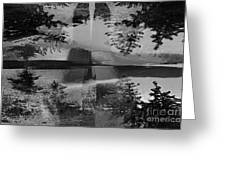 Grayscale Vision Trip Greeting Card
