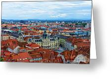 Graz Old Town Greeting Card